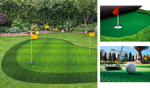 putting green artificiale
