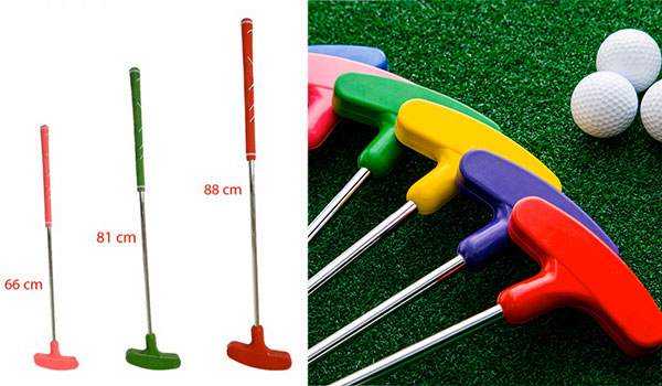 putter gomma golf minigolf